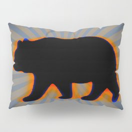 trippy bear Pillow Sham