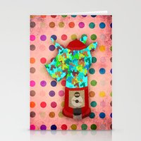 gumball Stationery Cards featuring Gumball Unicorns by That's So Unicorny