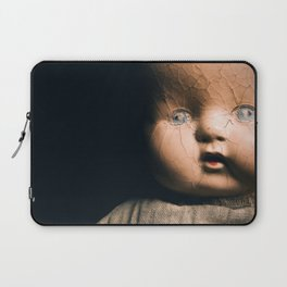 Creepy Doll Laptop Sleeve