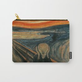 The Scream by Edvard Munch, circa 1893 Carry-All Pouch