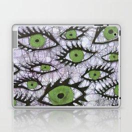 green eyes batik Laptop & iPad Skin