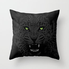 NIGHT STALKER Throw Pillow