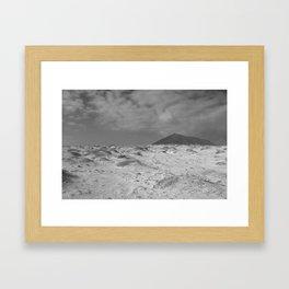 Old Volcano Framed Art Print