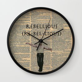 Deacon (Dictionary Page) Wall Clock
