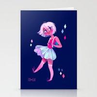 bubblegum Stationery Cards featuring Bubblegum by Anoosha Syed