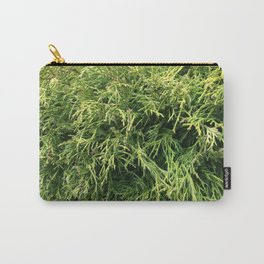 Combed Greens Carry-All Pouch