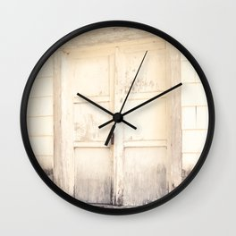 Closed Down Wall Clock
