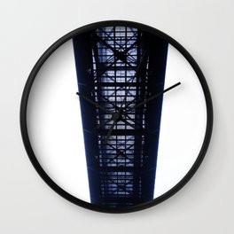 Foggy Lift #3 Wall Clock