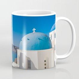 Oia in Santorini Greece Coffee Mug