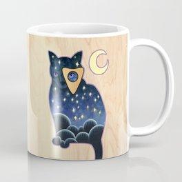 Ouija Cat Coffee Mug
