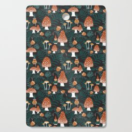 Mushroom Forest Gnomes Cutting Board