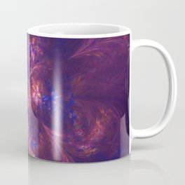 Abstract Blue And Purple Shape Coffee Mug