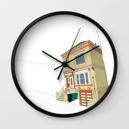 Mike's House Wall Clock