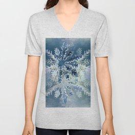 Winter Flakes Unisex V-Neck