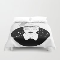 sound Duvet Covers featuring Universal sound by Cecile Psicheer