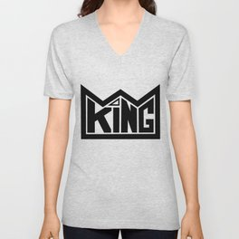 KING Unisex V-Neck