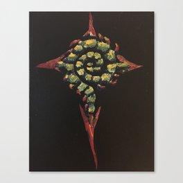 Living Cross Canvas Print