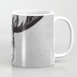 Beautiful Moose Head Design Coffee Mug