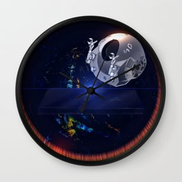 2001 Discovery Wall Clock