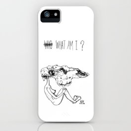 what am i iPhone Case