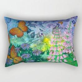 Monarch Haven Rectangular Pillow