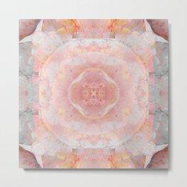 Soft Pink Teture Metal Print