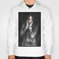 vampire diaries Hoodies featuring Vampire by Justin Gedak