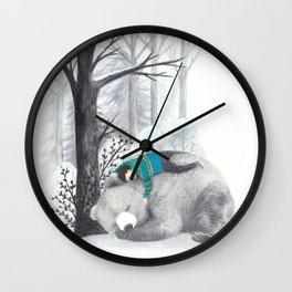 Beary me Wall Clock