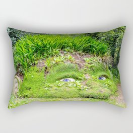 The Lost Gardens of Heligan - Giant's Head Rectangular Pillow