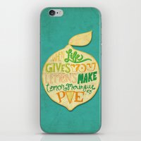 Lemon Meringue Pie iPhone & iPod Skin