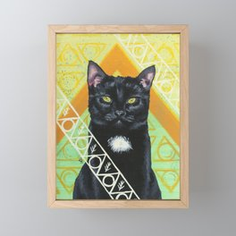Casting: Arcane Cat Series Framed Mini Art Print