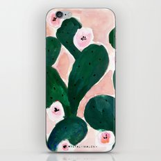 Cactus Bloom iPhone & iPod Skin