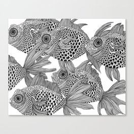 White Fish II Canvas Print