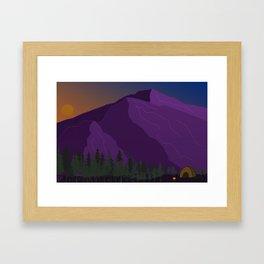 Mountain Vibes Framed Art Print
