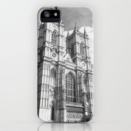 Classic Westminster Abbey of London iPhone Case