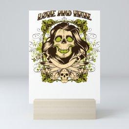 Love and Hate Mini Art Print
