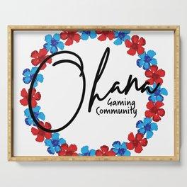 Ohana Gaming Community Serving Tray