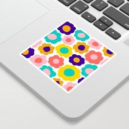 Flowers Pop Sticker