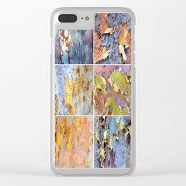 Rainbow Bark Clear iPhone Case