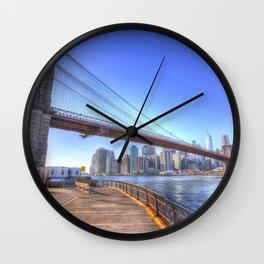 Brooklyn Bridge New York Wall Clock