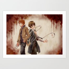 Undressing Your Wounds Art Print