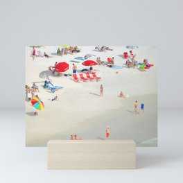 Beach Watch Mini Art Print