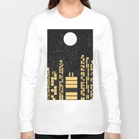 starry night Long Sleeve T-shirts featuring Starry Night by Alisa Galitsyna