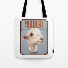 Rancho Relaxo Fundraiser: In Memory of Nikolai Tote Bag