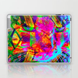 Tiger Lily Kitty-Sir Parker Laptop & iPad Skin