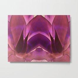 Purple Agave Metal Print