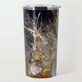 dandelion drops 3 Travel Mug