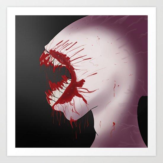 Mindnumbing Pain Art Print