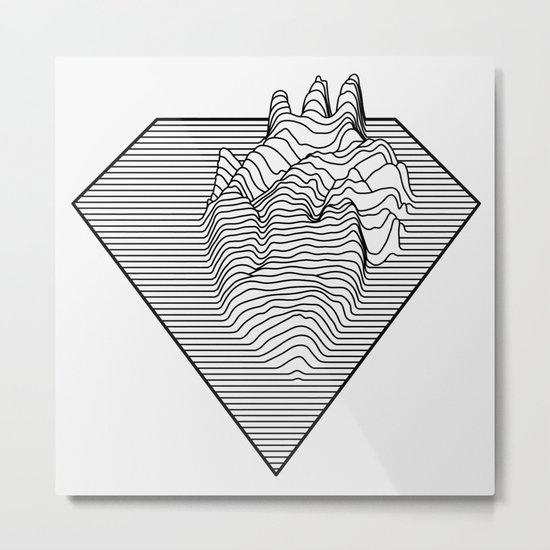 Super Heart Metal Print