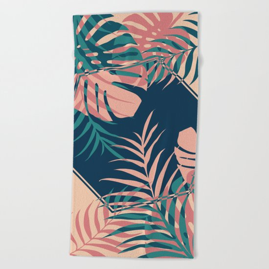 Tropical Dreams #society6 #decor #buyart Beach Towel